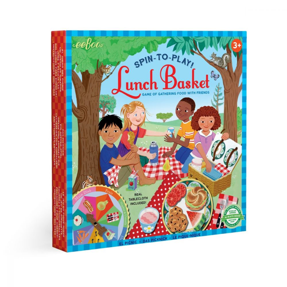 Eeboo Picnic - Lunch Basket Spinner Game