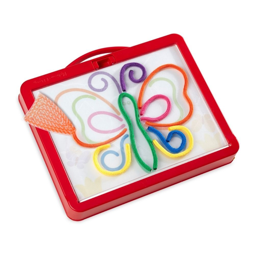 Melissa and Doug Rainbow Cord Picture & Pattern Making