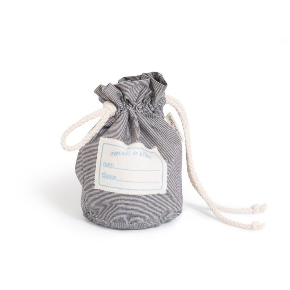 Moulin Roty - A Bag of Marbles Chambray