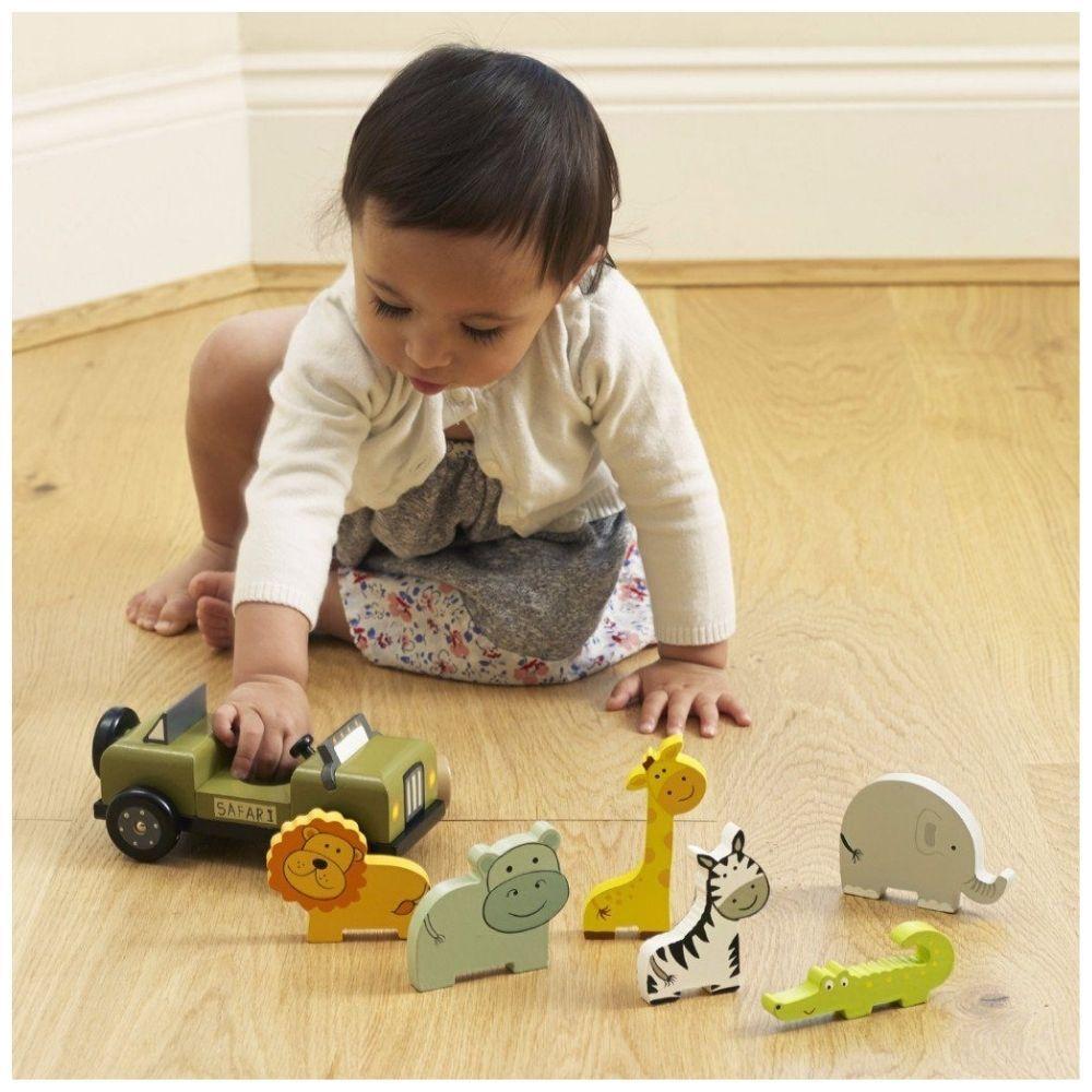 Orange Tree Toys - Safari Play Set