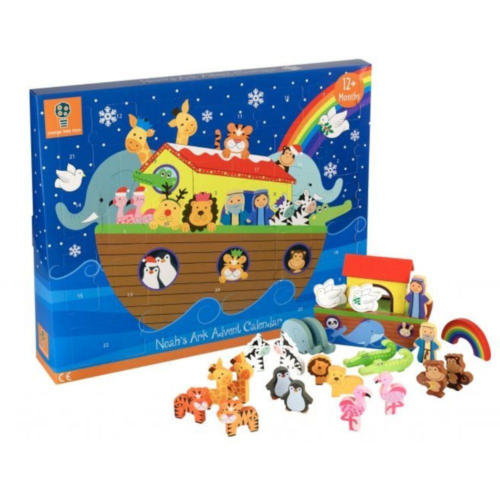 Orange Tree Toys - Wooden Noah's Ark Advent Calendar OTTAD912
