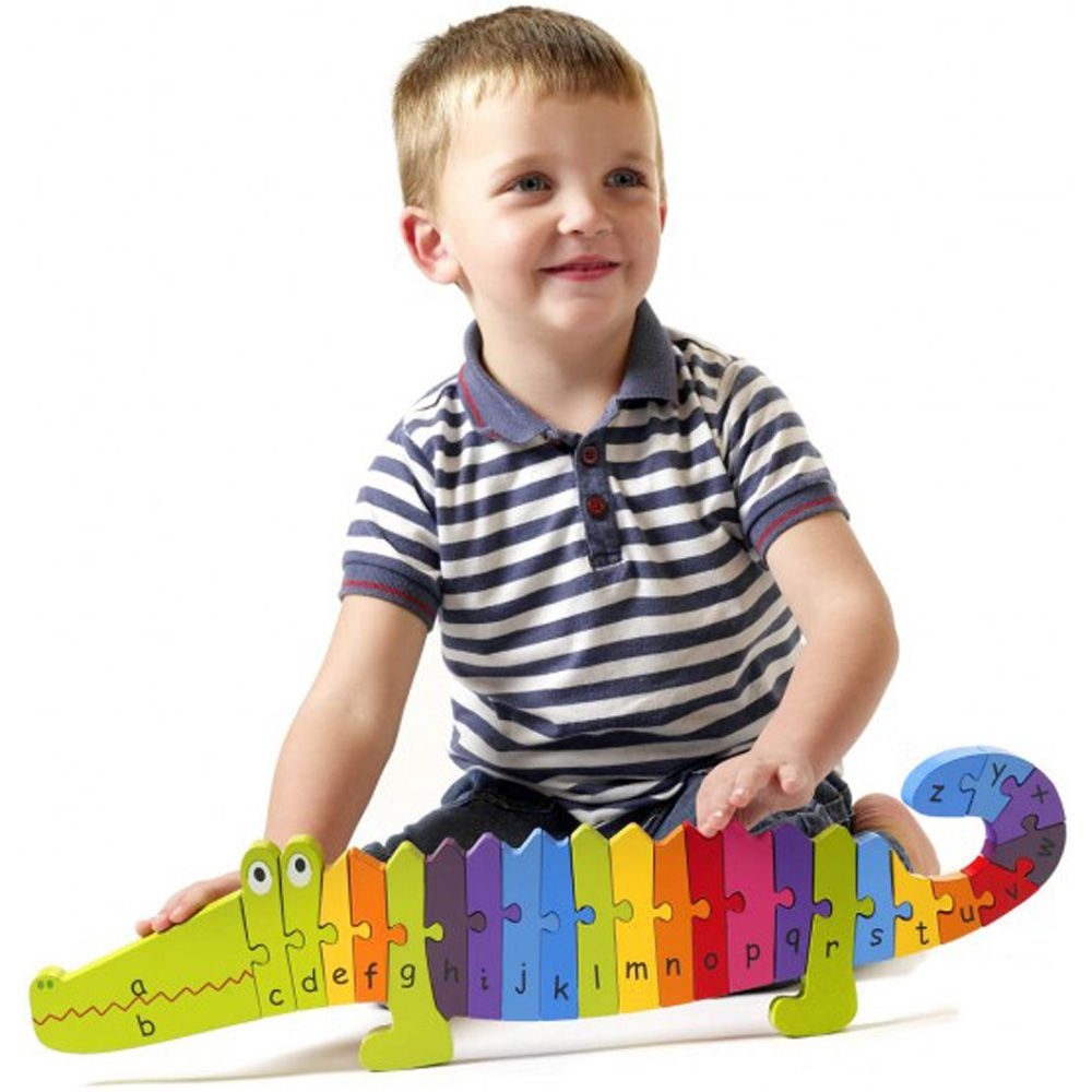 Crocodile Alphabet Puzzle - Orange Tree Toys