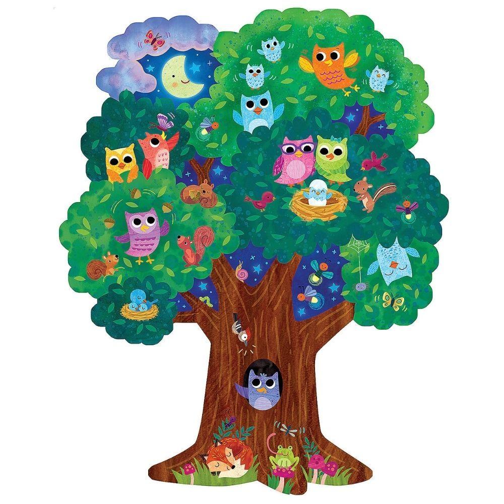 Peaceable Kingdom Hoot Owl Hoot Floor Puzzle PZ29