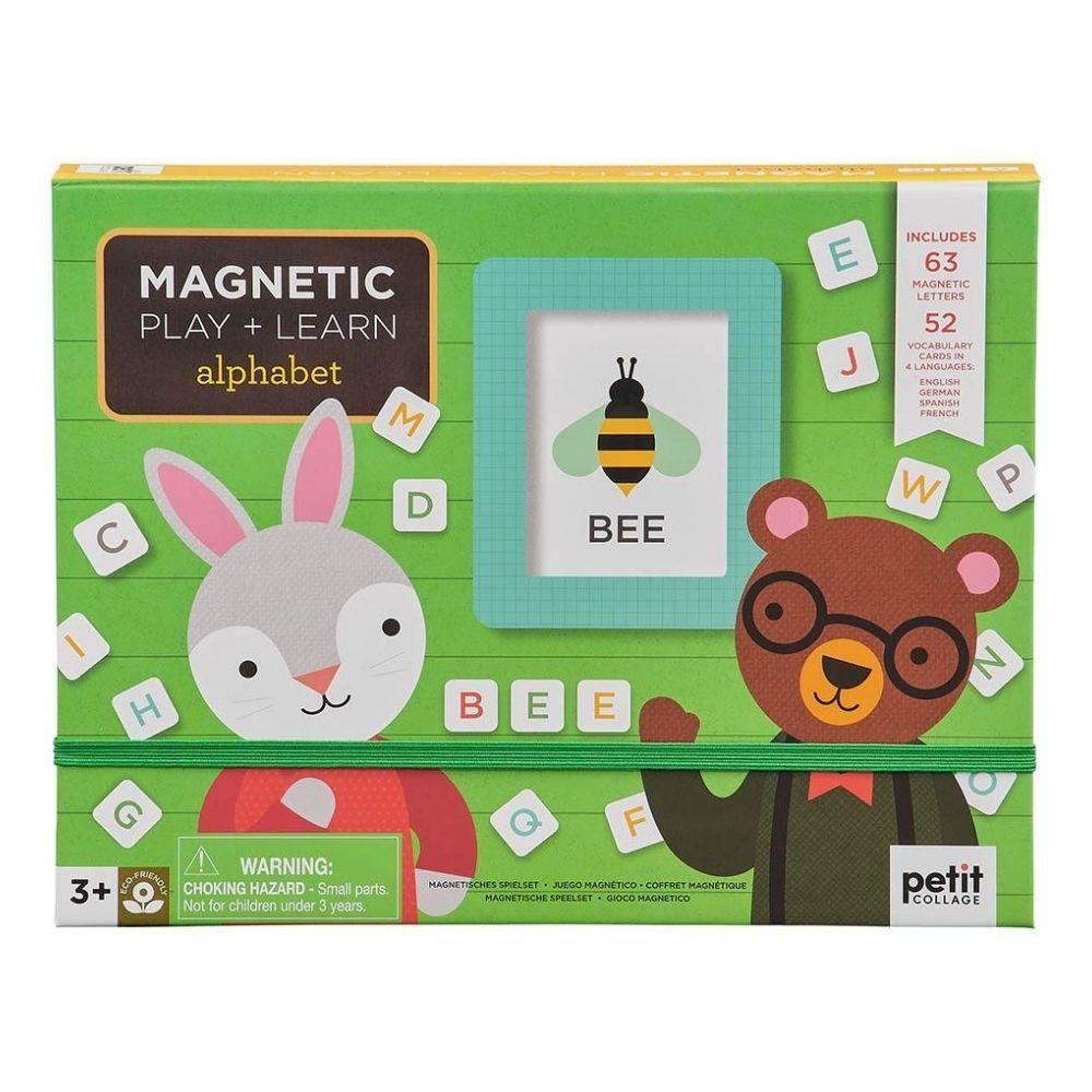 Petit Collage Magnetic Play Scene - Alphabet