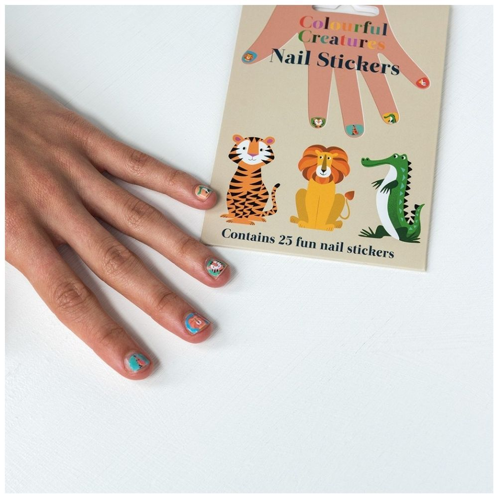 Rex London Colourful Creatures Nail Stickers 28339