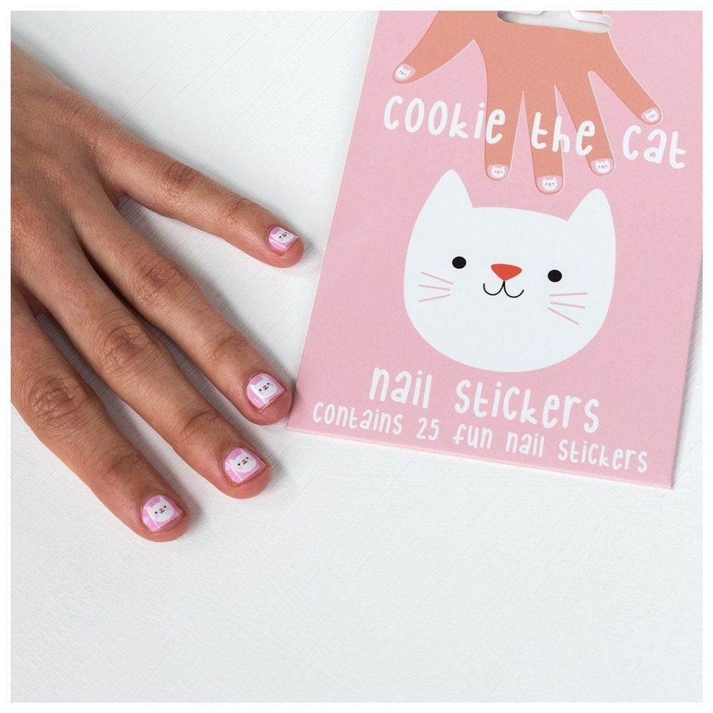 Rex London Cookie the Cat Nail Stickers 28435