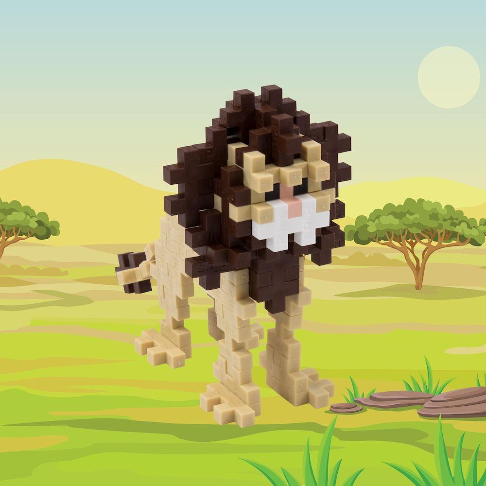Plus-Plus Lion Tube 100 Pieces