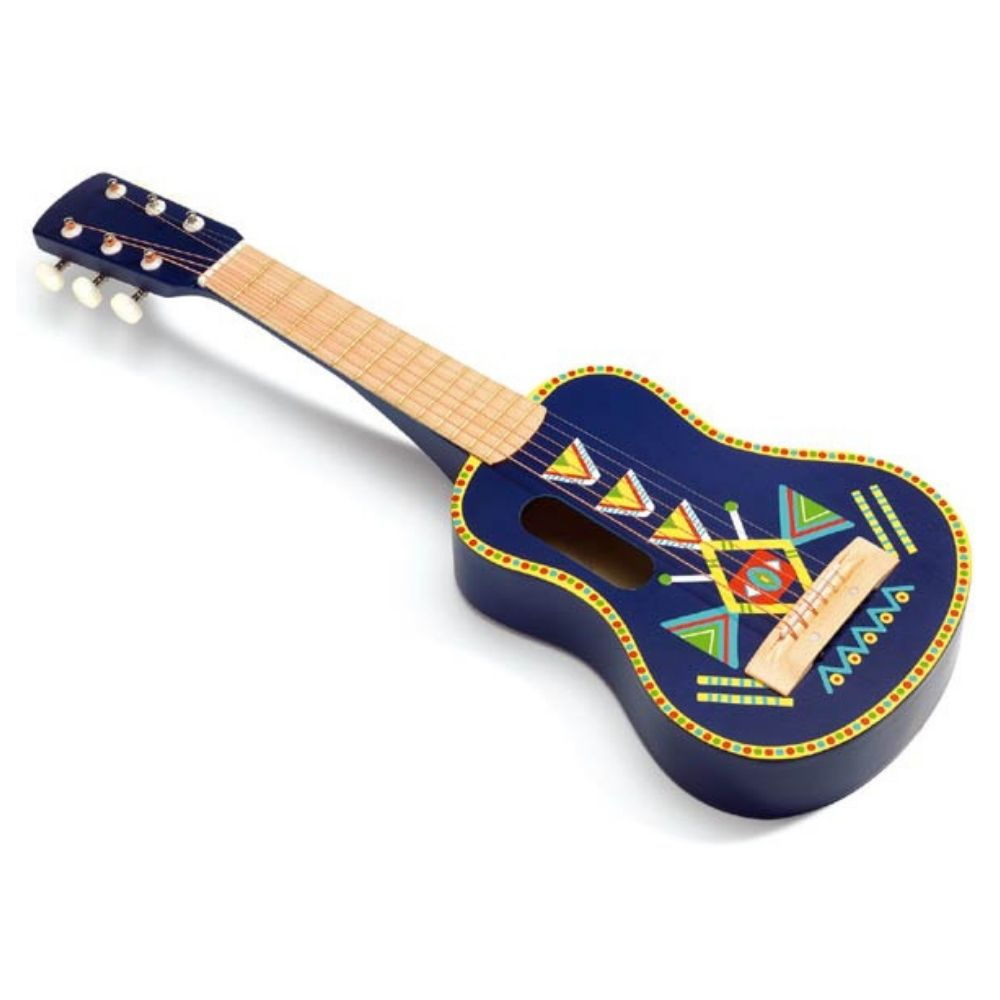 Djeco Animambo Toy 6 metallic strings Guitar