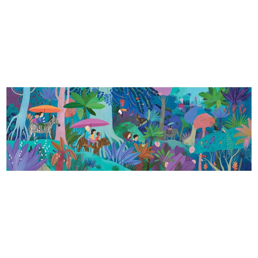 Childrens' Walk - 200pcs Gallery Puzzle by Djeco