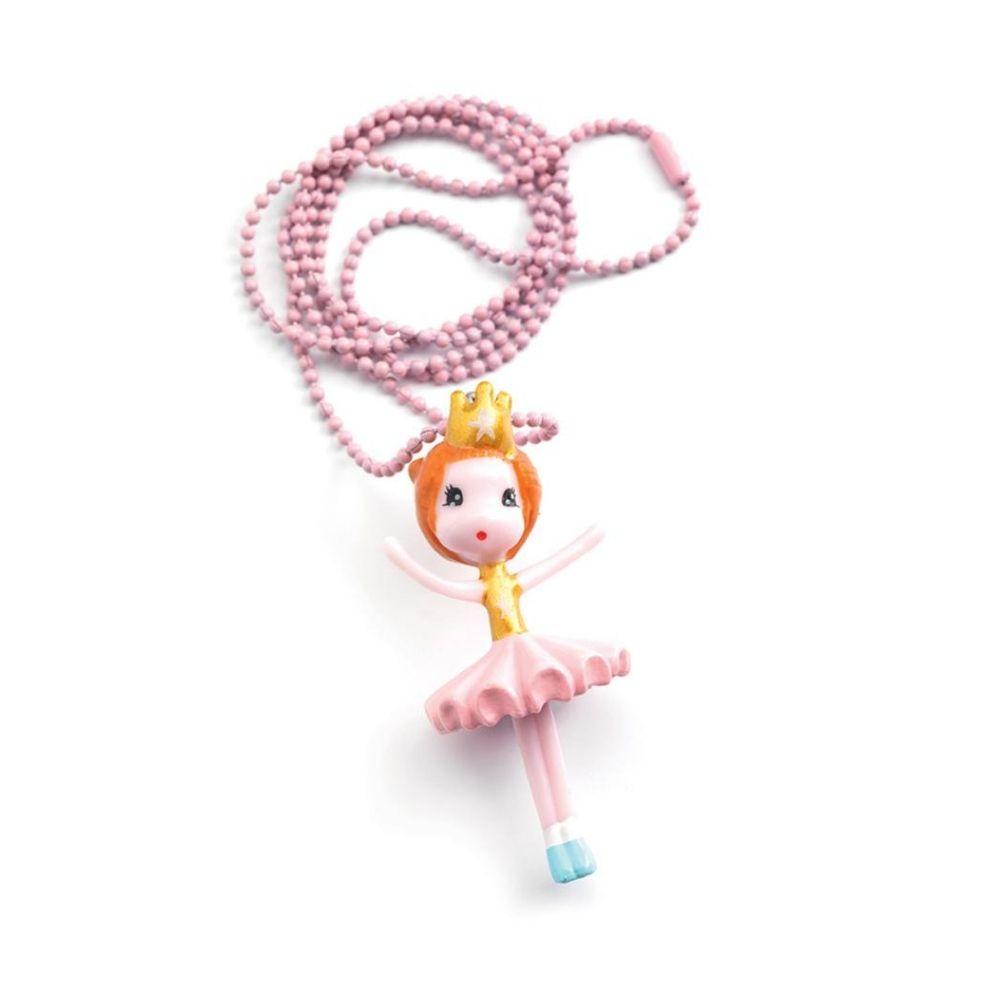 Djeco Ballerina Charm Necklace