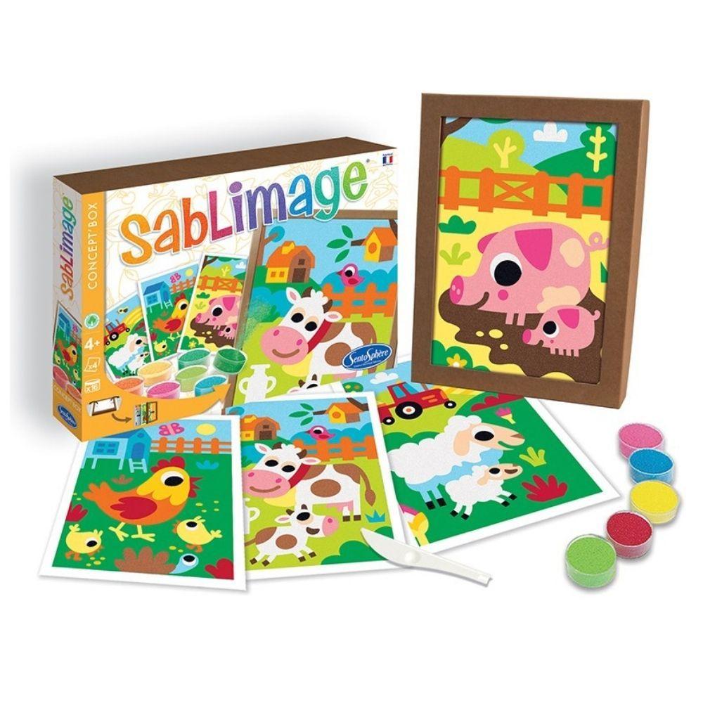 Sablimage Concept Box - Farm Animals 8807