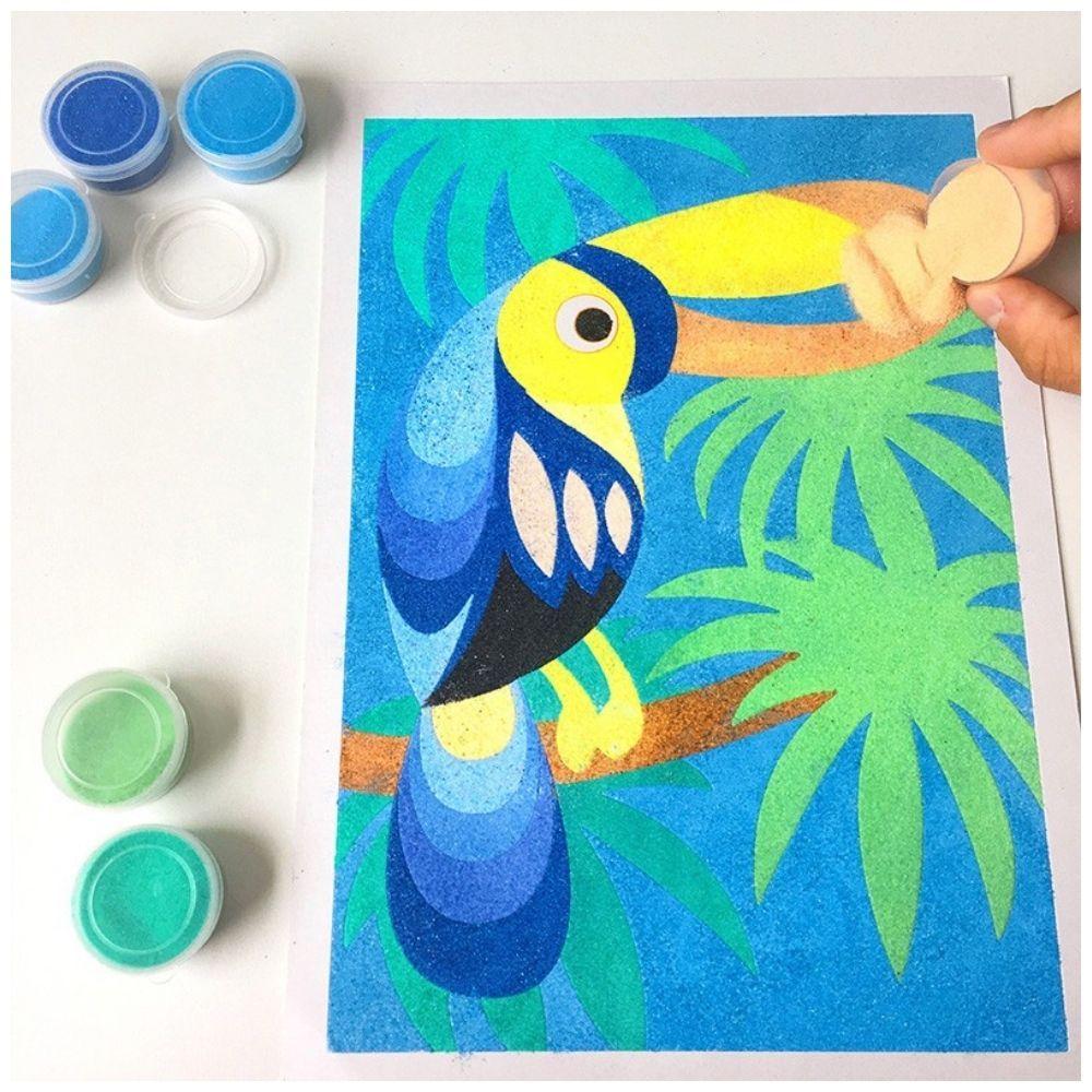 Sablimage Sand Art Animals of South America 8811
