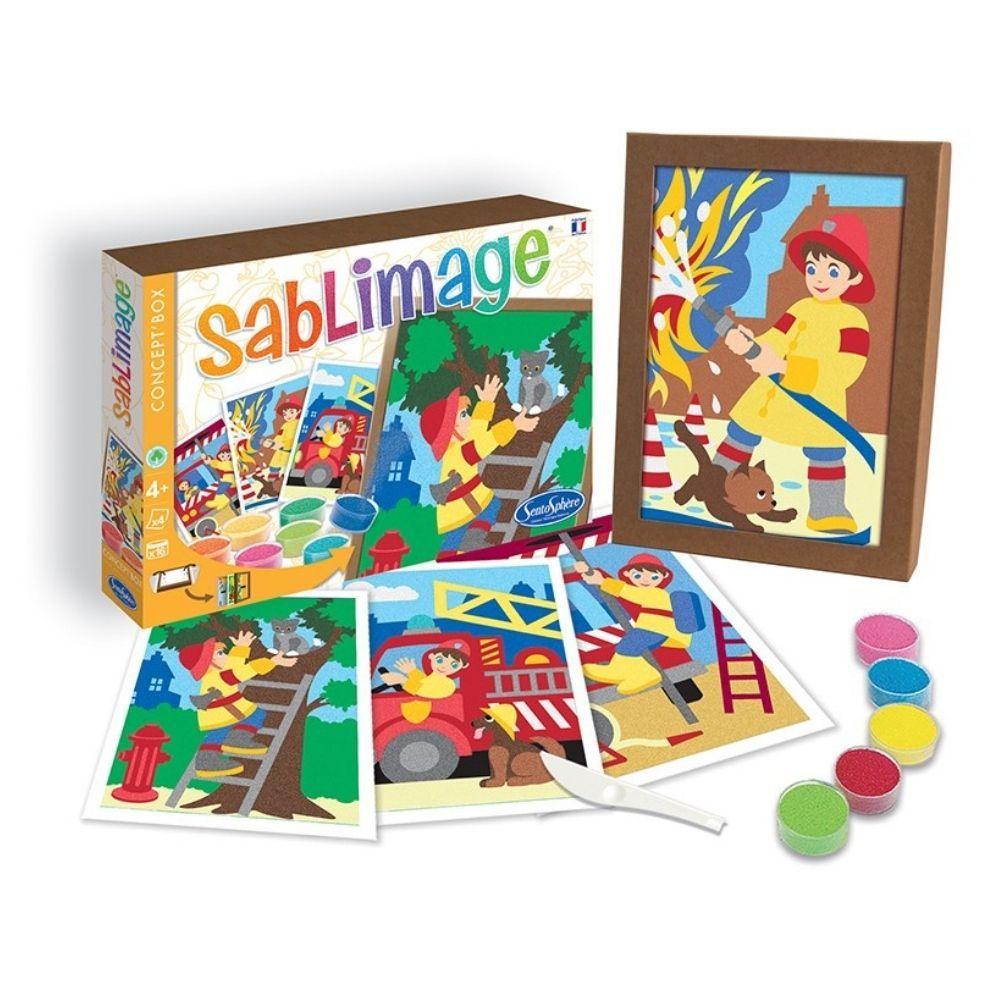 Sablimage Sand Art Firefighters 8802