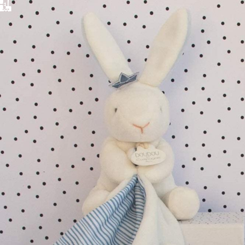 Sailor Bunny with Comforter