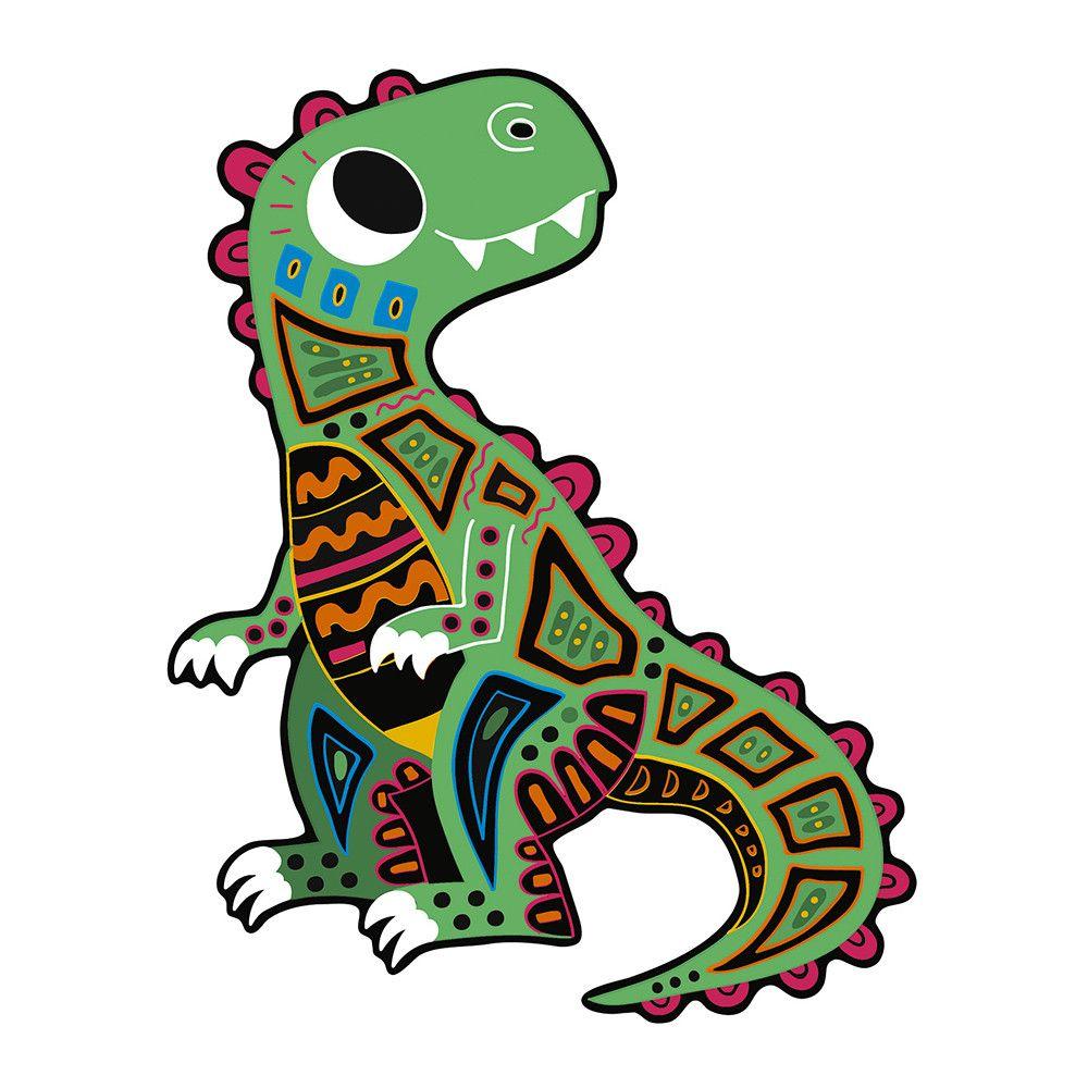 Janod Scratch Art - Dinosaur Cut Outs