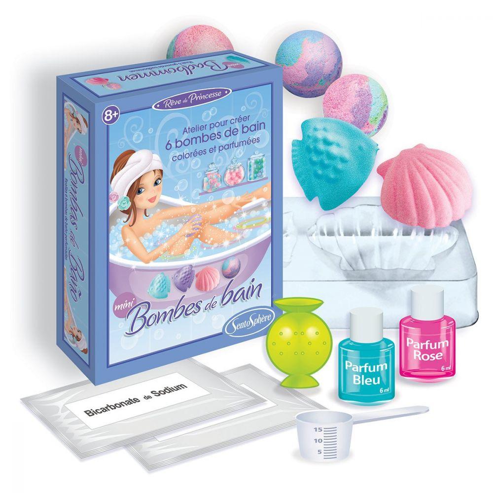 Sentosphere Mini Make Your Own Bath Bomb Kit