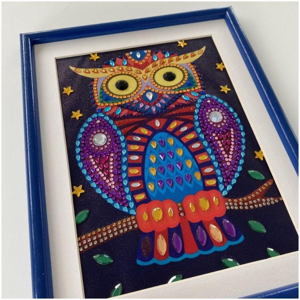 Sentosphere Owl Diamond Picture Mosaic Ref3256