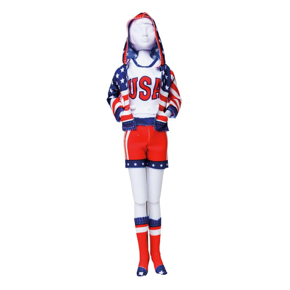 Sporty Stars 'n Stripes Outfit  - Level 4
