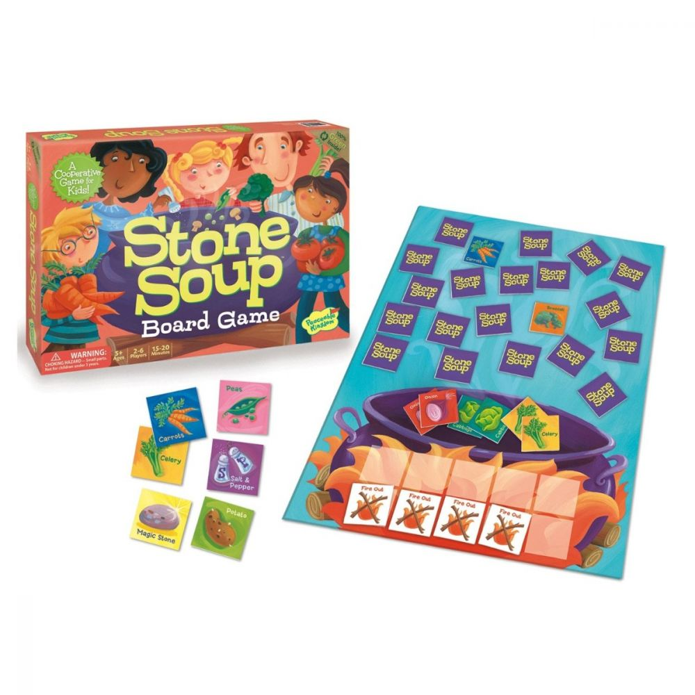 Stone Soup - A Peaceable Kingdom Cooperative Game