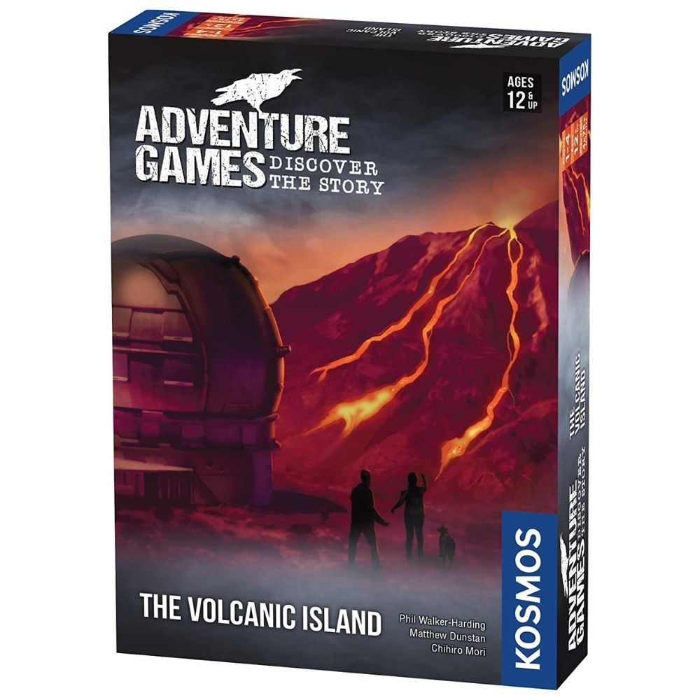 Thames and Kosmos - Adventure Games The Volcanic Island