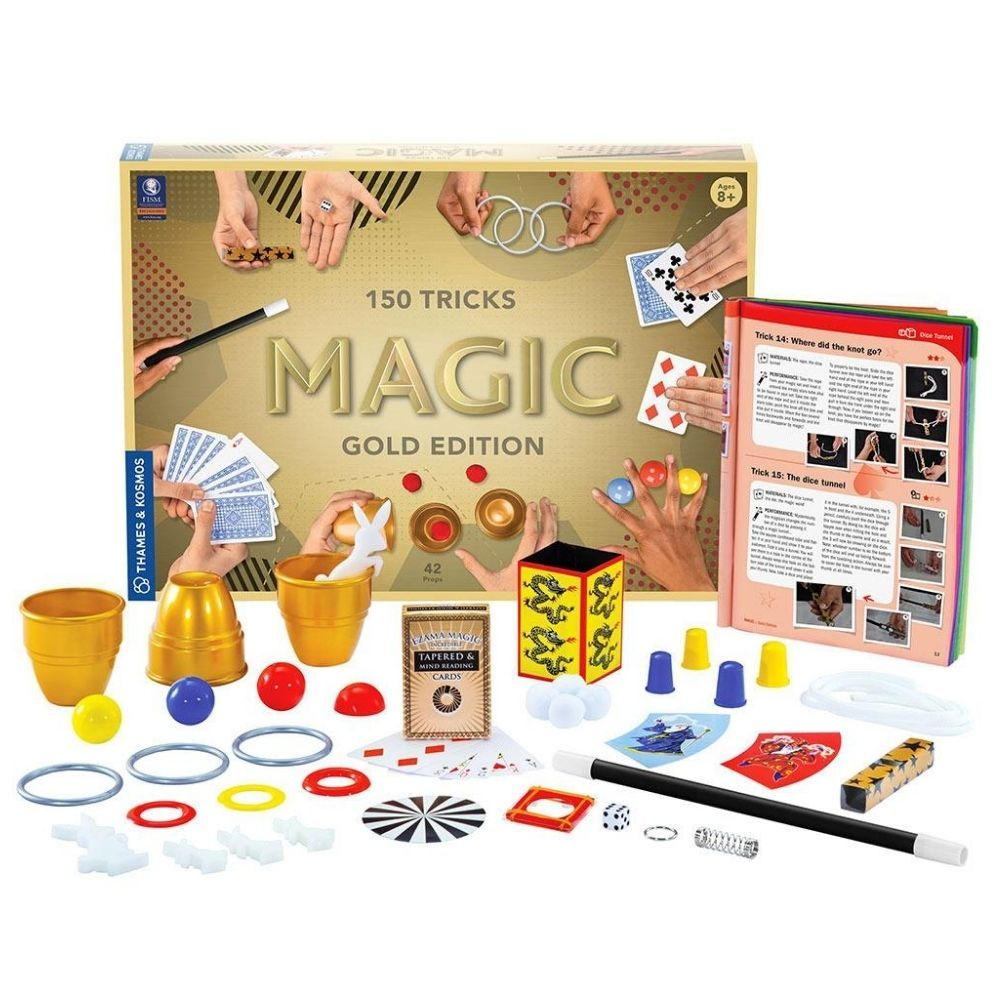 Thames & Kosmos 150 Magic Tricks Magic - Gold Edition