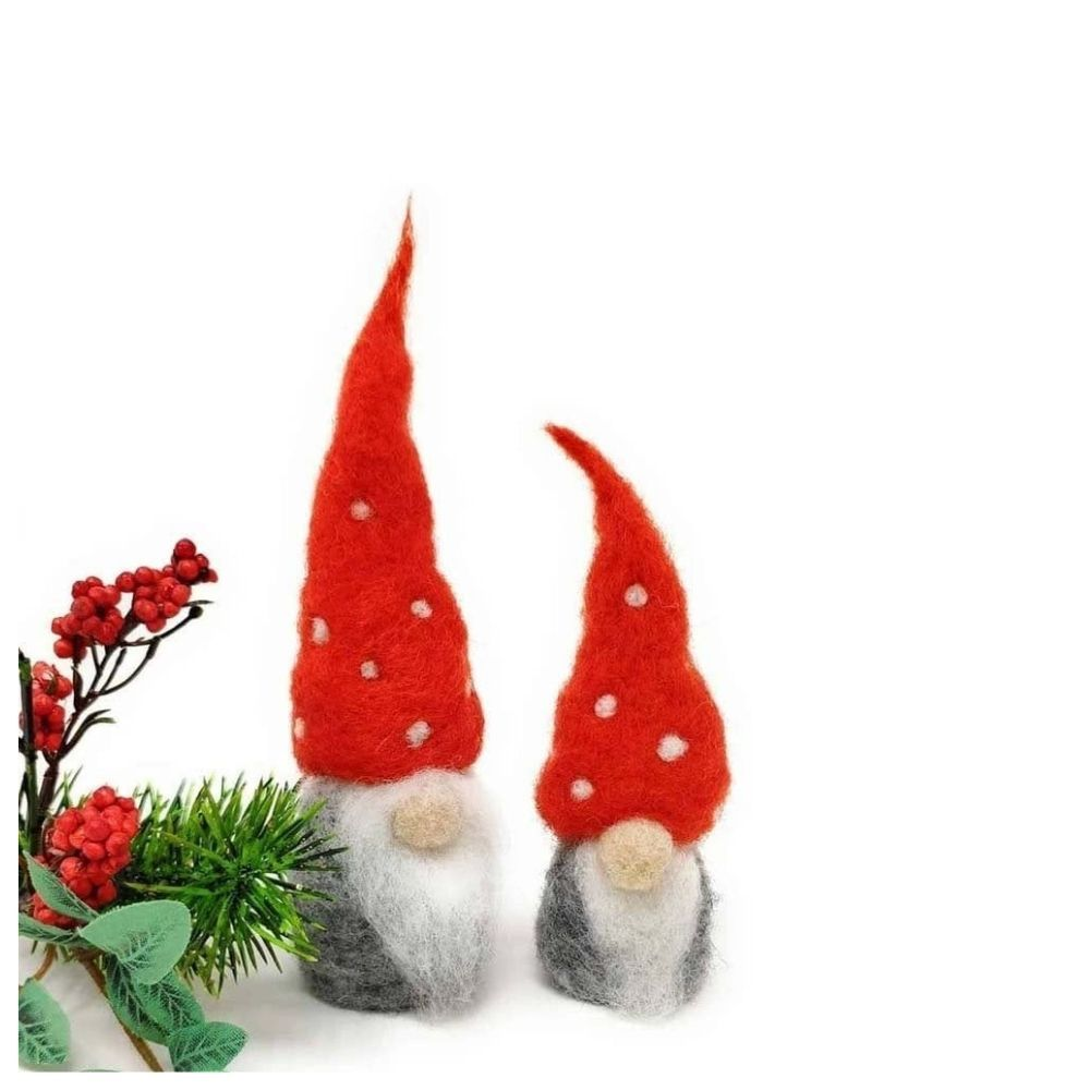 The Crafty Kit Co, Needle Felting Kit - Nordic Gnomes