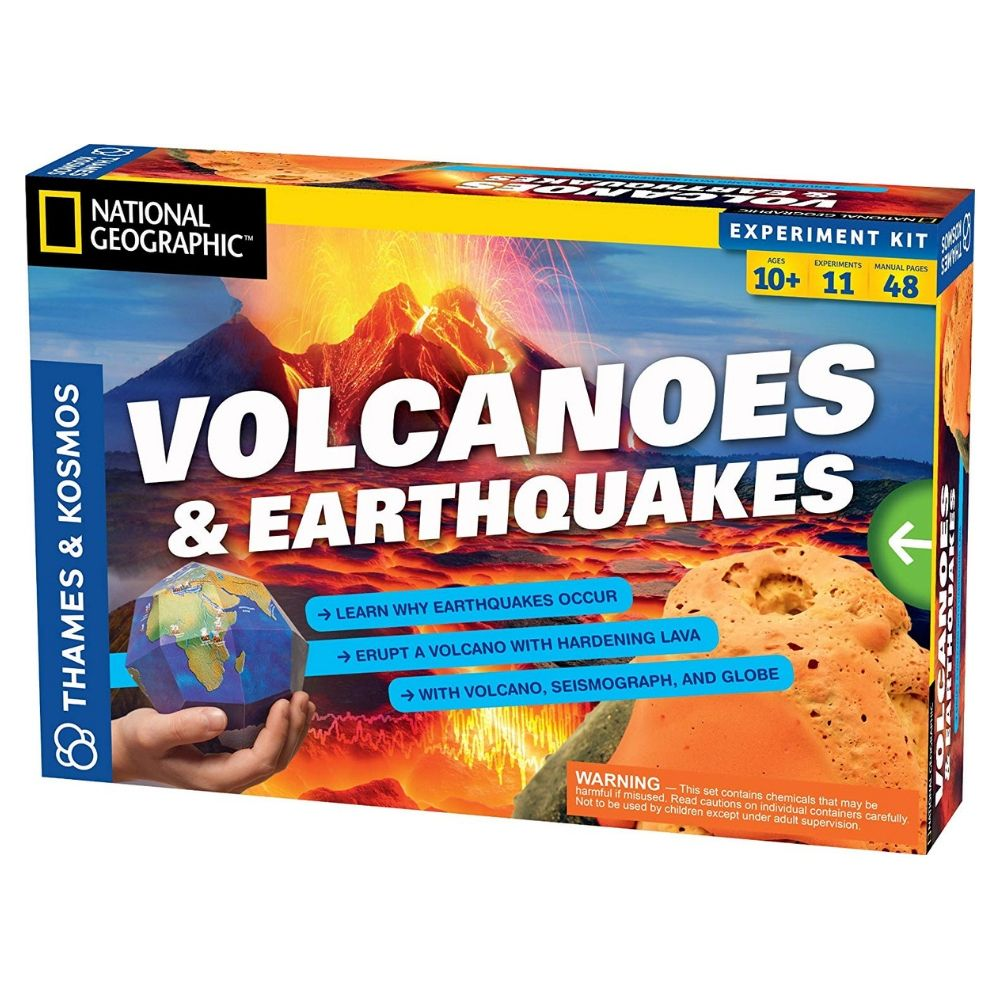Thames & Kosmos Science Kit - Volcanoes and Earthquakes