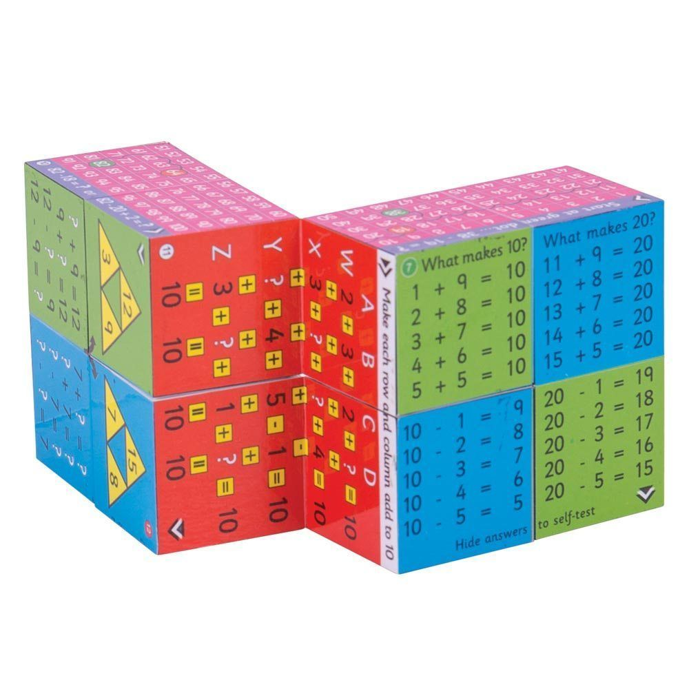 ZooBooKoo Add & Subtract Cube Book