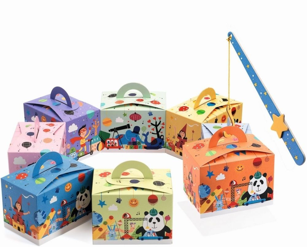 Djeco Party Gift Boxes - Surprise Box - SAVE 25%