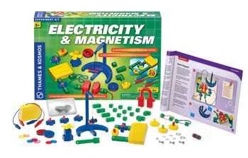 Thames & Kosmos Electricity & Magnetism Kit, from 8 years