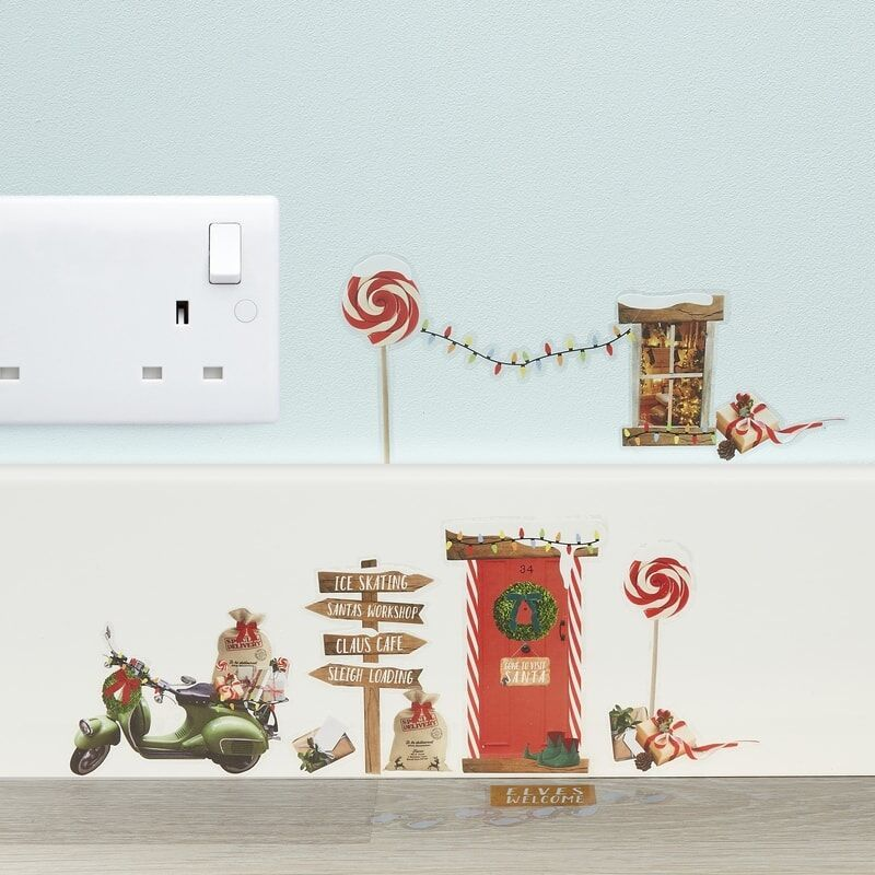 Elf Wall Stickers