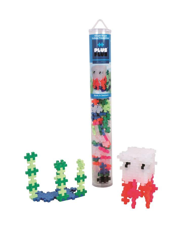 Plus Plus Jellyfish Mix 100 pcs. Tube