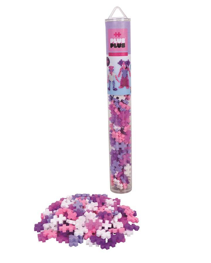 Plus Plus Glitter Mix 100 pcs. Tube