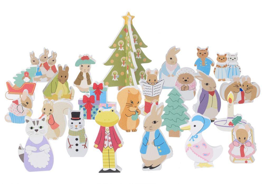 Orange Tree Toys - Wooden Peter Rabbit Advent Calendar