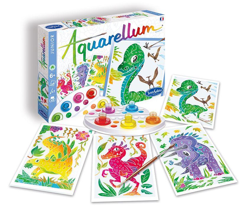 Aquarellum Junior Dinosaurs