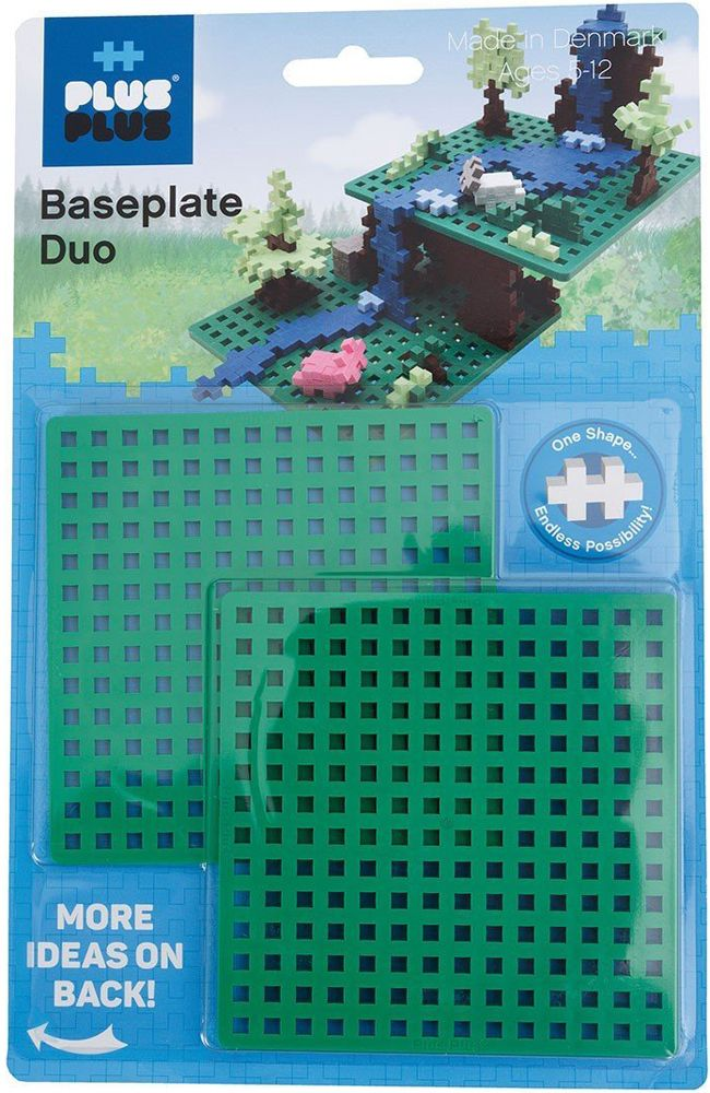 Plus-Plus Baseplate Duo Pack