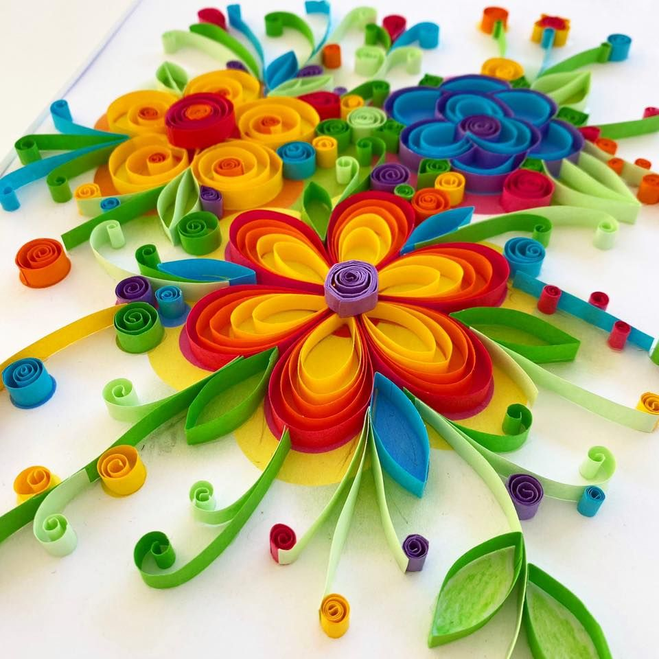 Sentosphere Quilling Art - In the Flowers