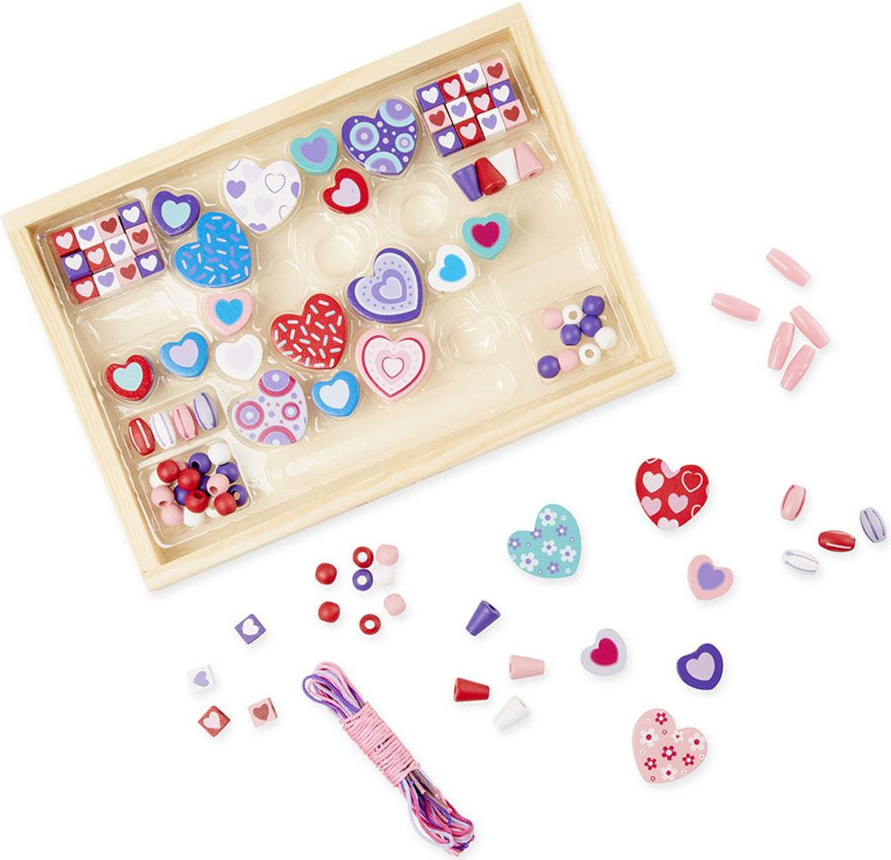 Sweet Hearts Beads Set