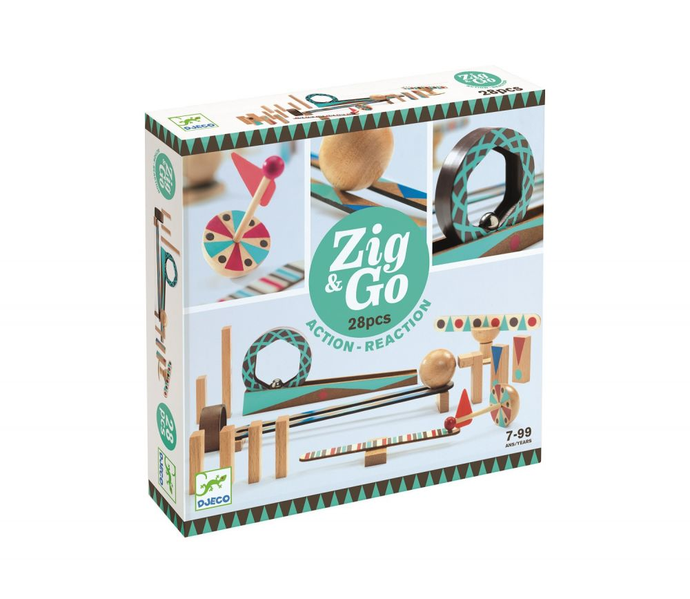 Djeco Zig & Go - 5640 28 pieces