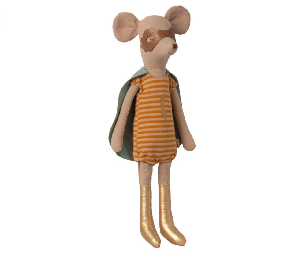 Maileg Super Hero Mouse - Medium Girl