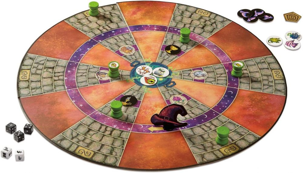 Cauldron Quest - A Peaceable Kingdom Cooperative Game