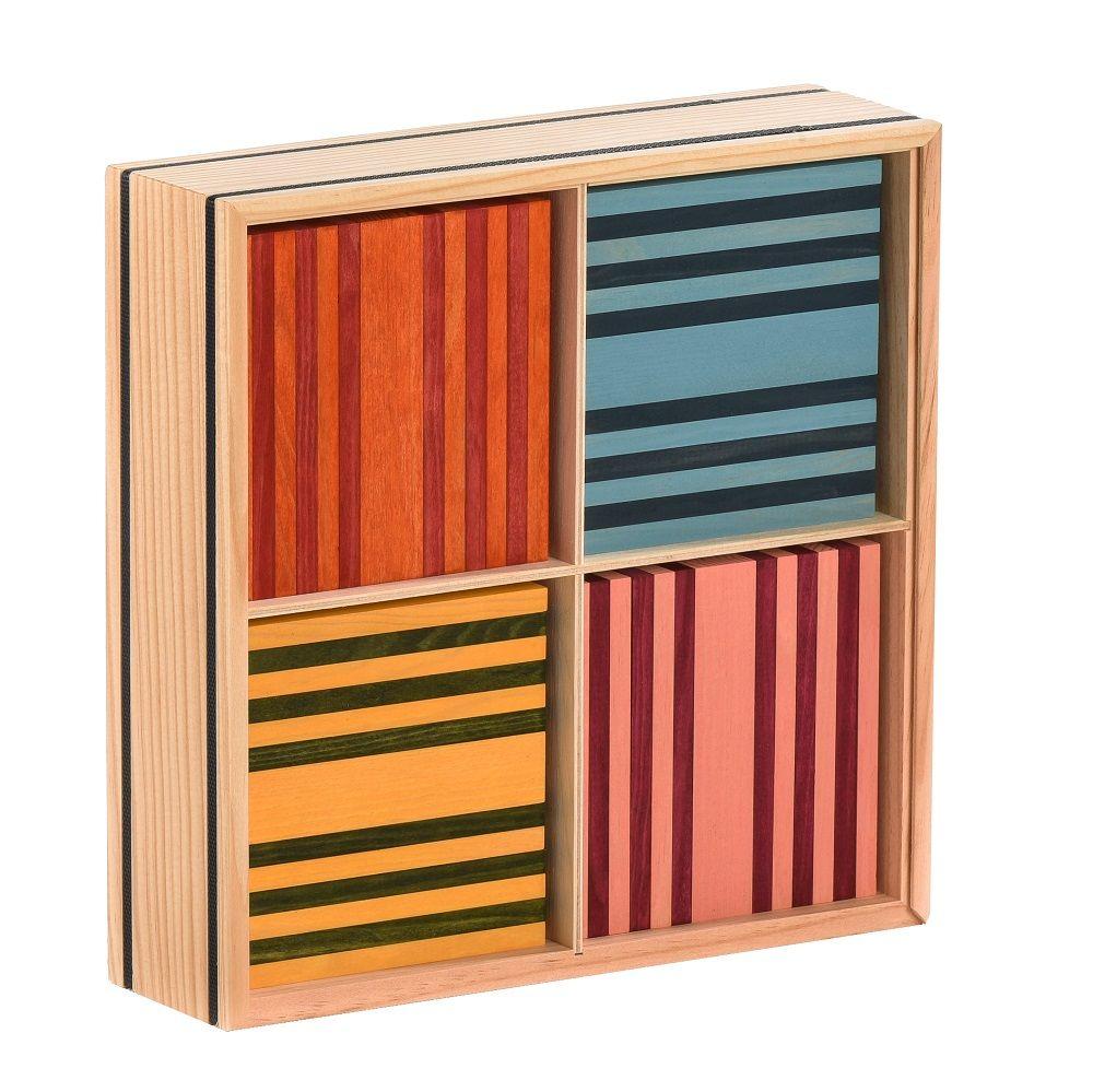 Kapla Octocolour Box of 100 planks