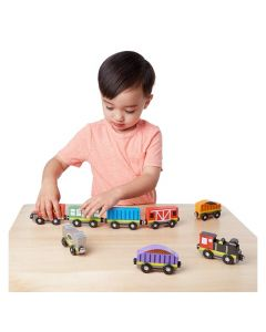 Melissa and Doug - Train Cars