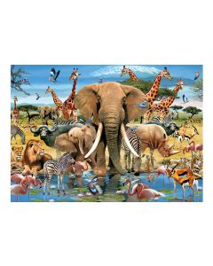 Howard Robinson 1000 piece Puzzle - Africana