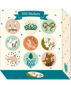 100 Lucille Stickers - Djeco Stationery