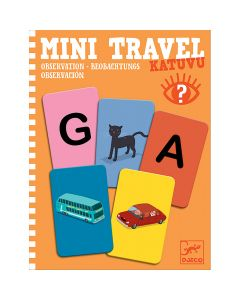 Djeco Mini Travel - Katuvu Observation Game - save 20%