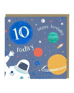 10th Birthday Card - Astronaut