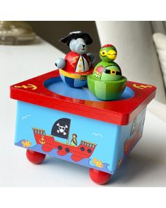 Orange Tree Toys Animal Pirate Music Box