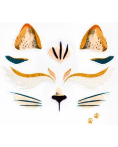 Djeco Face Stickers Kit - Cat