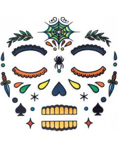 Djeco Face Stickers Kit - Skull